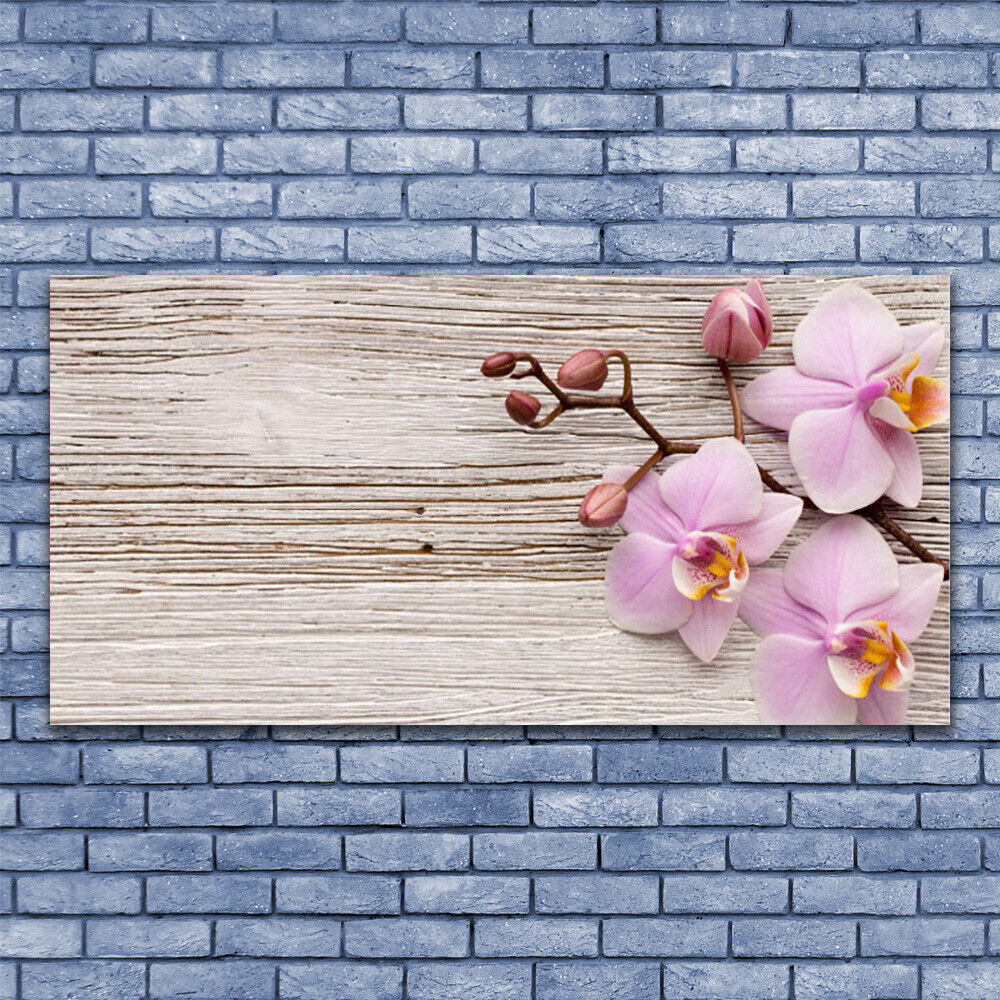 Canvas print Wall art on 140x70 140x70 140x70 Image Picture Flowers Floral cbfc4e