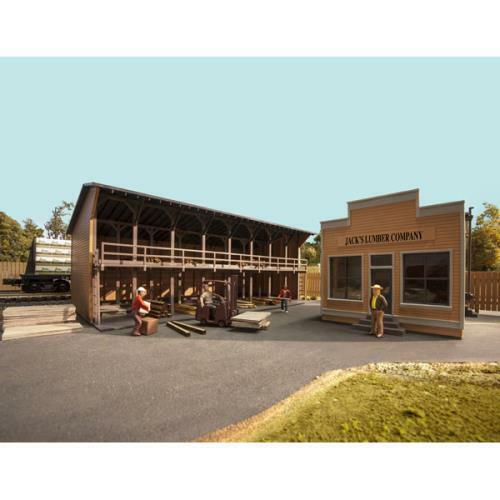 ATLAS O SCALE JACK'S Lumber azienda KIT articolo  6907