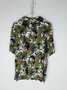 H-amp-M-Camicia-Maniche-Corte-Shirt-Maglia-Chemise-Camisa-Hemd-Tg-M-Uomo