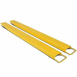New-Pallet-Fork-Extensions-for-forklifts-Lift-Truck-Forklift-84-034-x-5-5-034