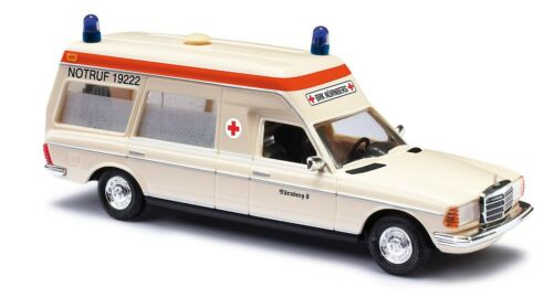 ambulancia BRK Nür #neu OVP # Busch 52200 pista h0 mercedes-benz vf 123 miserable