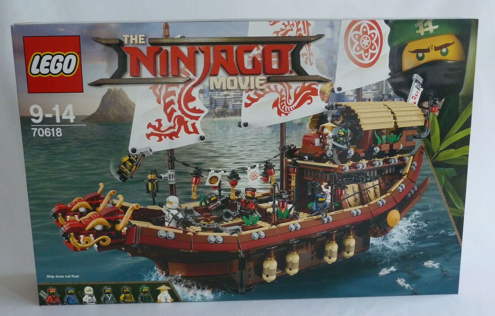LEGO NINJAGO 70618 Ninja-Flugsegler - NEU  OVP  MISB