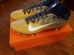 blue and gold nike football cleats Shop