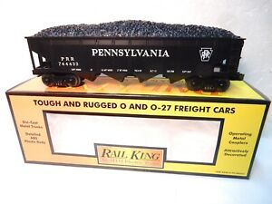 MTH-Rail-King-30-7016b-Pennsylvania-Gondola-Car-O-O27-New-with-original-box