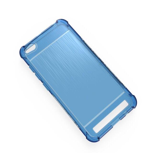 Cover TPU Gel Redmi 5A Silicone Anti Shock Colour Blue