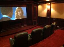 """117"""" Ceiling Recessed 5 Series Motorized Screen Innovations Material Lunar HD"""