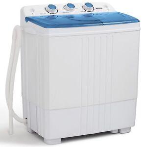 11lbs-Portable-Washing-Machine-Mini-Compact-Twin-Tub-Laundry-Washer-Spin-Dryer