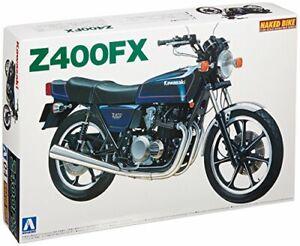 Aoshima-Bunka-Kyozai-1-12-Bike-Series-No-4-Kawasaki-Z-400-FX-Plastic-model