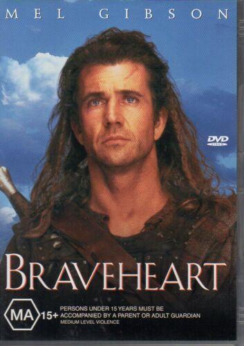 1 of 1 - BRAVEHEART - DVD R4 - Mel Gibson - LIKE NEW - FREE POST