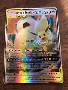 Leggi La Descrizione M Evee & Snorlax Gx Ex Mega Full Art Alleati Pokemon Ita Rkmduvwb-08002809-441125522