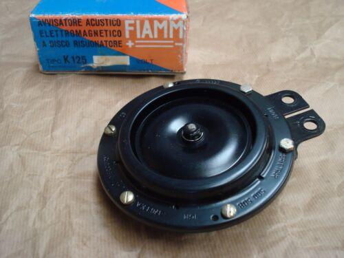 Clacson 24v  7008963 k125 fiamm avvisatore acustico