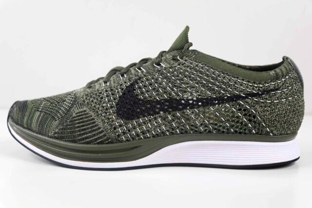 904b8688df7f Nike Flyknit Racer Rough Green Black 8862713 300 Size 7 Womens 8.5 New in  Box