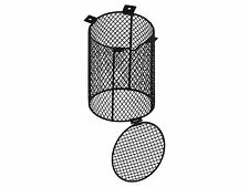 Vivarium Round Heater Guard Reptile Heat Bulb Cage with Easy Access Door