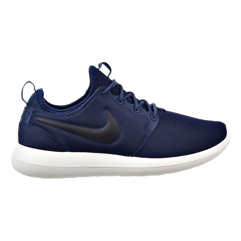 Nike Roshe Two Men's Shoes Midnight Navy/Sail/Volt/Black 844656-400