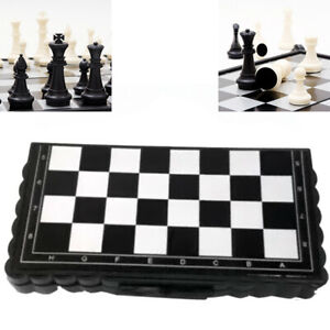 MAGNETIC-TRAVEL-CHESS-SET-FOLDING-BOARD-PARENT-CHILD-TOY-FAMILY-GAME-FADDISH