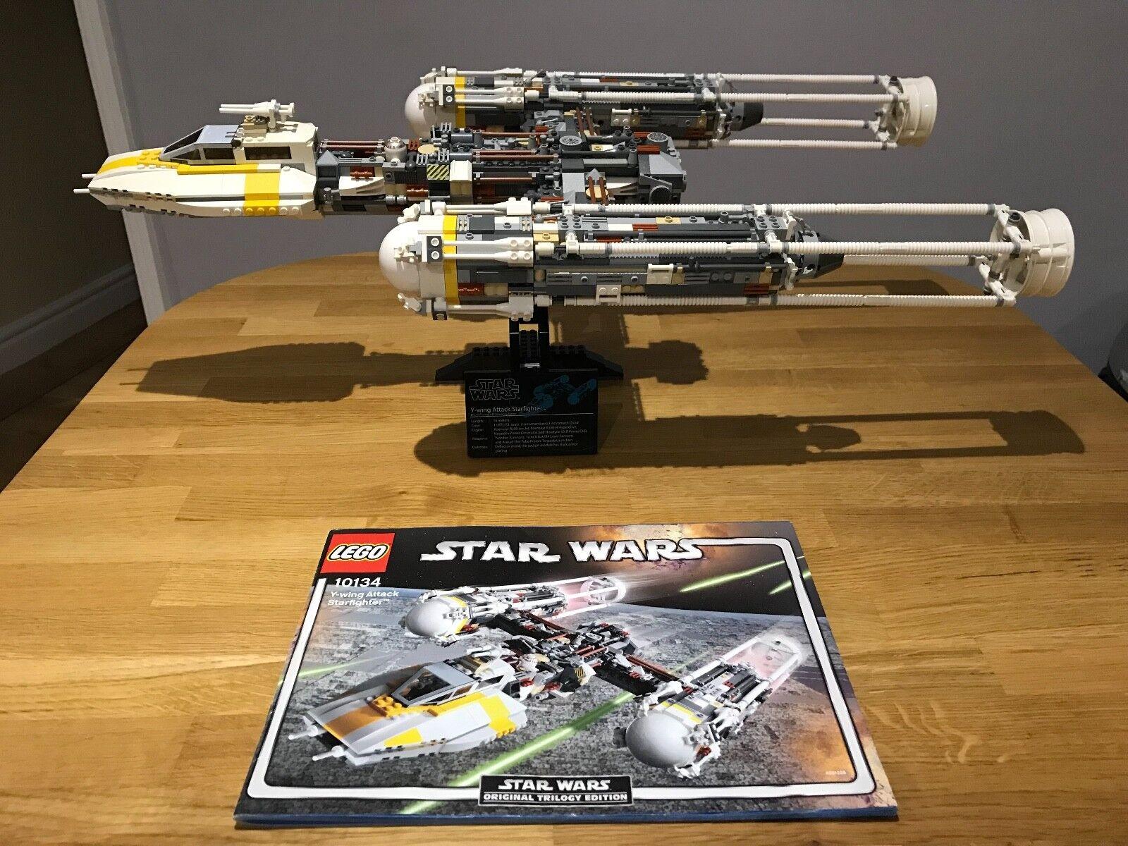 marchi di moda LEGO Estrella Guerras 10134-UCS 10134-UCS 10134-UCS Y-Wing Estrellacombatiente ATTACCO (senza confezione)  buona qualità