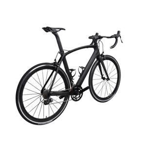 49-56-61cm-Carbon-bike-700C-Alloy-Clincher-Wheels-Carbon-Road-Bikes-172-5crank