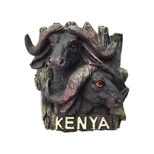 Details About Kenya Africa Bison Fridge Magnet Tourist Souvenir Travel Home Decor Collection