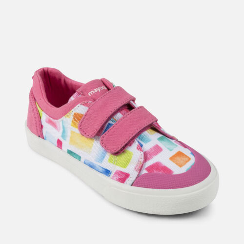 Mayoral Girl Canvas Sneakers in Pink Multi Now only £16.90 43-849