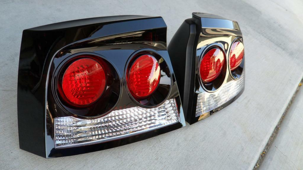 06 10 Charger Smoked Tail Lights Tinted Black Oem Non Led