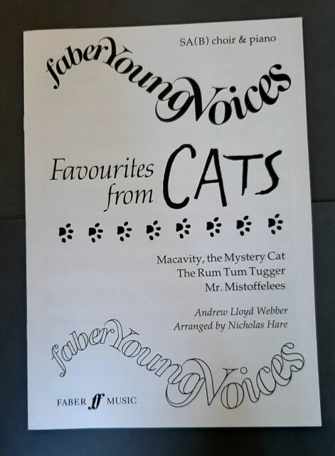 Faber Young Voices: Favourites from Cats (SA(B)Choir/Piano)