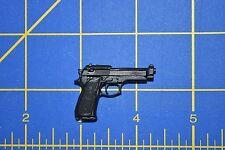 "1/6 scale Black Handgun Gun Pistol + Mag for 12"" Action Figures W-206"