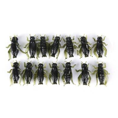 6Pcs 23mm//1.5g Ice Fishing Lure Maggot Worm The New Metal Bait Ice Mini Jig XS