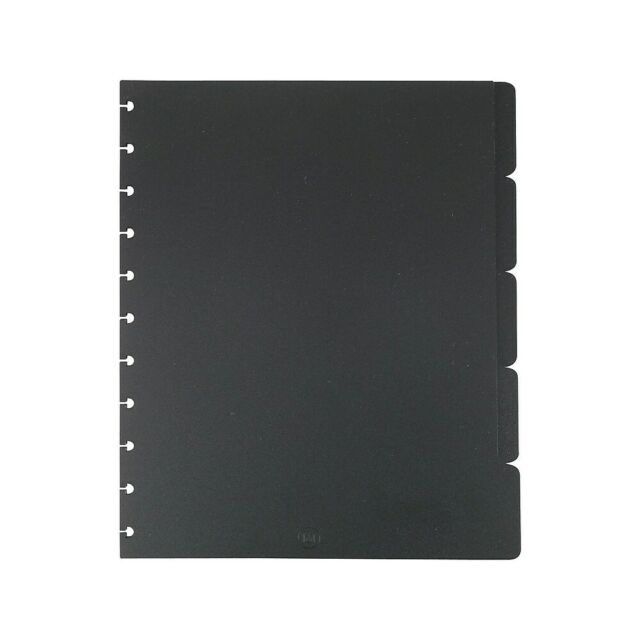 Staples Arc Notebook Tab Dividers Black 9 X 11 Never