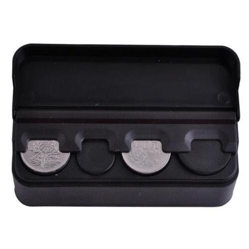 Car Coin Case Loose change Storage Box Money Wallet Piggy Bank Holder Organizer