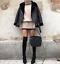ZARA-BLACK-FAUX-Leather-Shearling-FUR-COLLAR-AVIATOR-BIKER-JACKET-Coat-2969-069