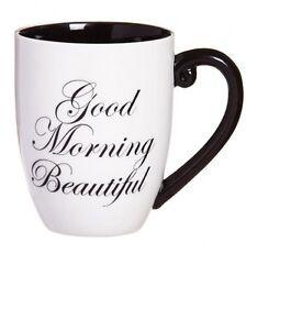 Black ink - Good Morning Beautiful Coffee Mug - Wife - Mother ...