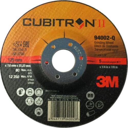 3m Cubitron II Schruppscheiben Gen für Stahl und Edelstahl 2 115x7x22 hart
