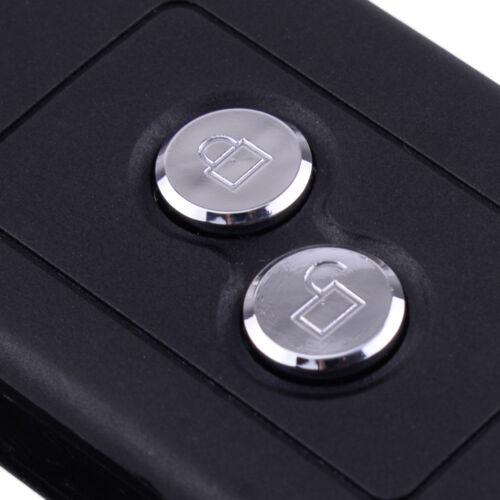 2-Tasten Klappschlüssel Rohling Gehäuse für Peugeot 106 205 206 306 405 Key Case