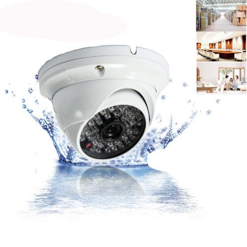 1000TVL HD 48-LED Outdoor Waterproof CCTV Security Dome Camera IR Night Vision