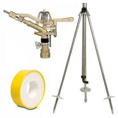 60-100cm Dreibein-Stativ für Kreis-und Sektorenregner Regnerstativ 1 Zoll