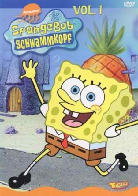 Kinder DVD Spongebob Schwammkopf Vol. 1 - selten / rar  - wie NEU