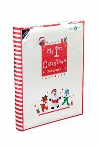 Baby-Christmas-Album-My-First-Christmas-Photo-Album-Self-Adhesive-Photo-Album