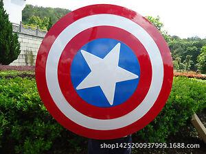 Avengers Weapon Armor Captain America Steve Rogers Vibranium Shield Prop Cosplay