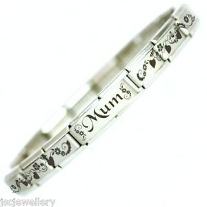 MUM - Daisy Charm Bracelet Mothers Day Gift - Fits Nomination ... accd0d0ca