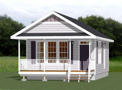 18x30 Tiny House -- 540 sq ft -- PDF Floor Plan - Model 5D