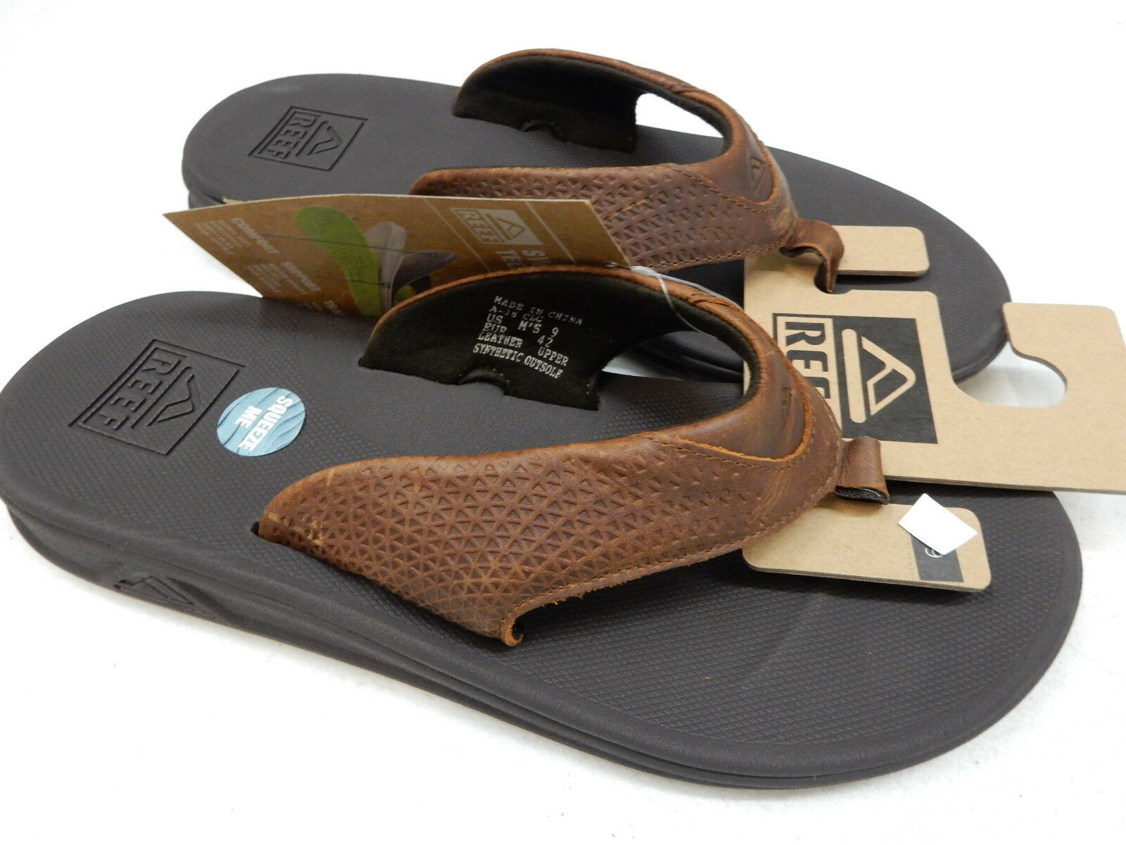 REEF  LE Herren SANDALS REEF ROVER LE  BROWN SIZE 10 0661ad