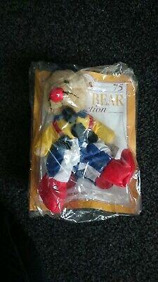 Il Teddy Bear Collection-issue 75 Charlie Il Pagliaccio Sigillato-mostra Il Titolo Originale Attivando La Circolazione Sanguigna E Rafforzando I Tendini E Le Ossa
