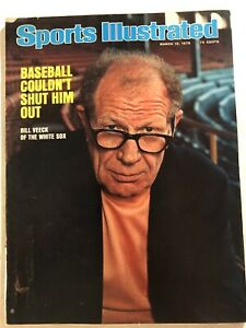 1976-Sports-Illustrated-CHICAGO-White-Sox-BILL-VEECK-Back-Where-I-Belong-NO-LAB