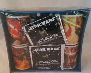 Star-Wars-Mugs-Luke-Skywalker-Darth-Vader-Han-Solo-Boba-Fett-Gift-Set-4-New-2011