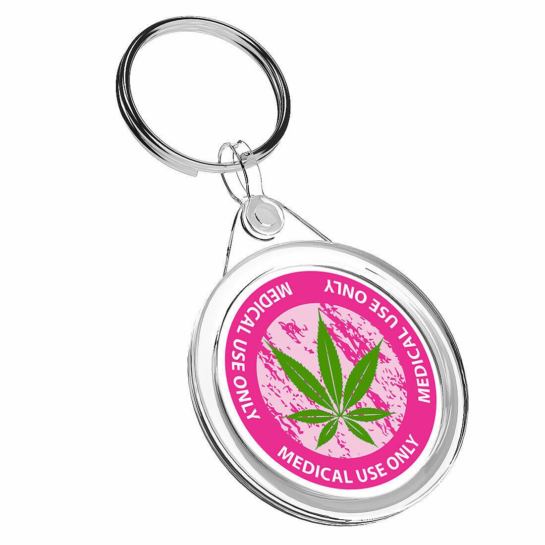 1 Cannabis uso médico sólo-x KEYRING IR02 mamá DAD Niños Regalo de Cumpleaños #5873