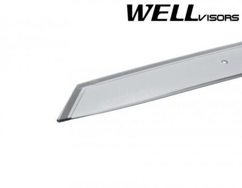 For 16-19 Mazda CX-3 WELLvisors CLIP-ON Side Vents Window Visors Rain Guard