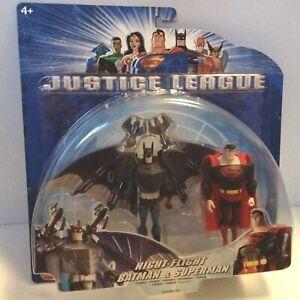 NIGHT-FLIGHT-BATMAN-amp-SUPERMAN-JLU-JUSTICE-LEAGUE-UNLIMITED-action-figure-MATTEL