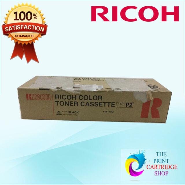 New & Original Ricoh Trype P2 888235 Black Toner Cartridge Aficio 2228C 2232C