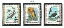 Album Treasures Montserrat Scott # 337-339  Birds Overprints Mint NH