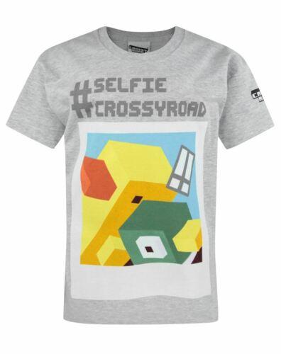 Crossy Road Selfie Boy/'s T-Shirt